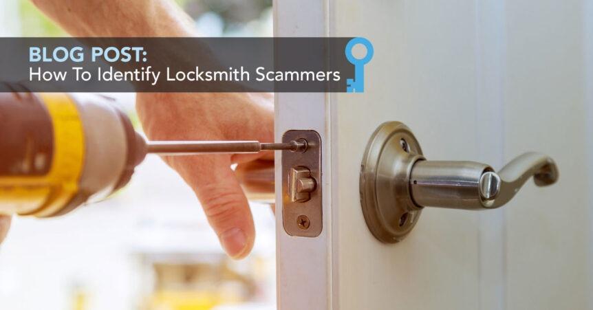 identifying locksmith scammers